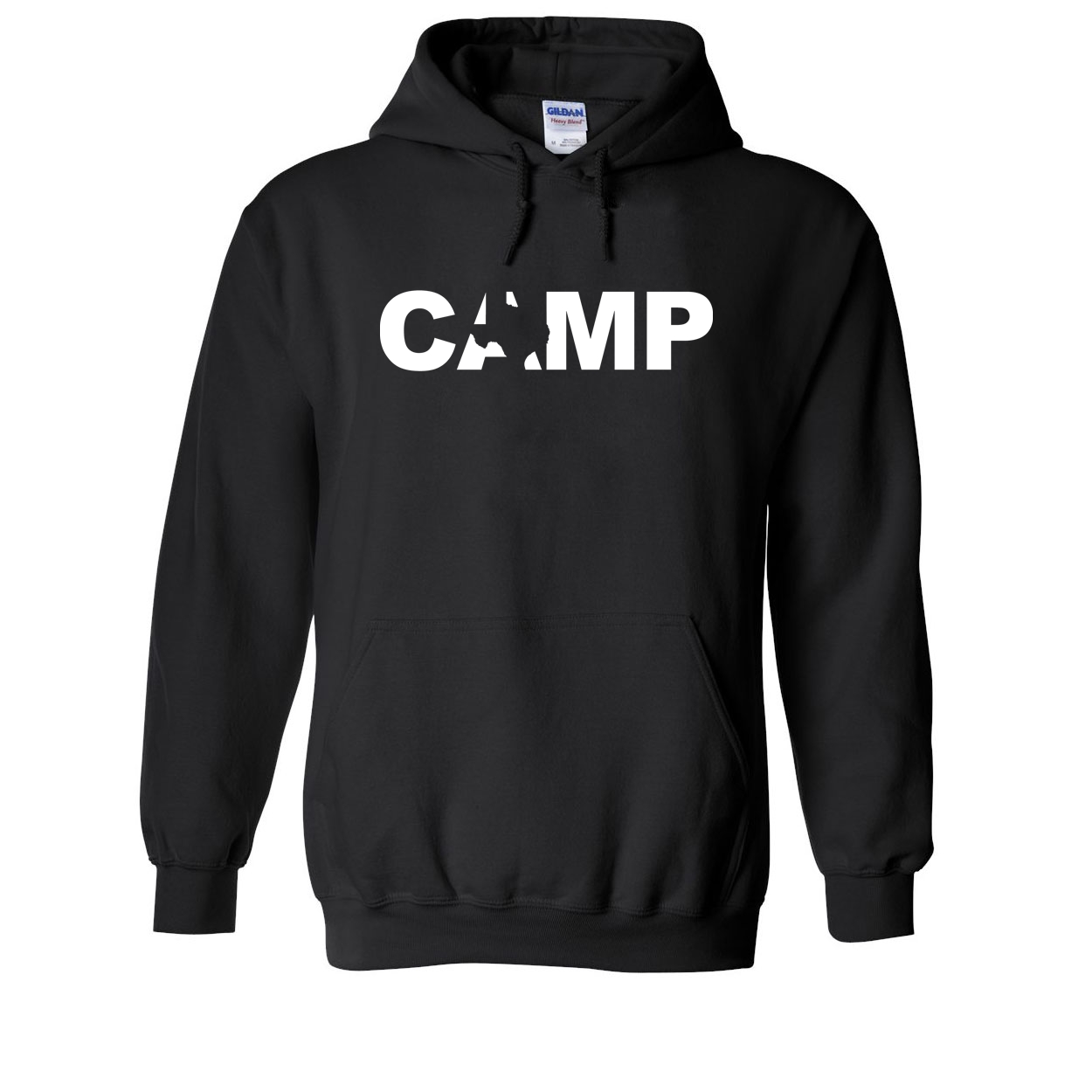 Camp Texas Classic Sweatshirt Black (White Logo)