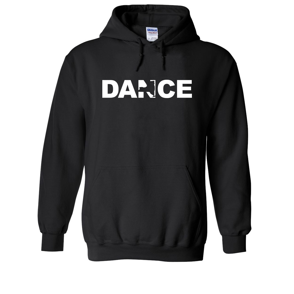 Dance New York Classic Sweatshirt Black (White Logo)