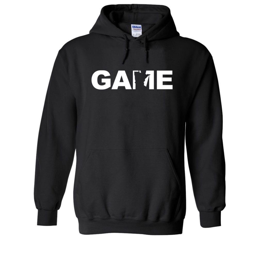 Game Minnesota Classic Sweatshirt Black (White Logo)