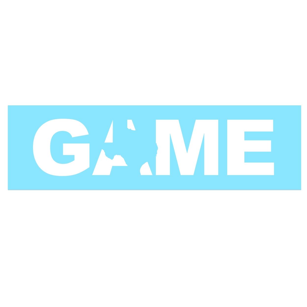 Game Texas Classic Decal (White Logo)