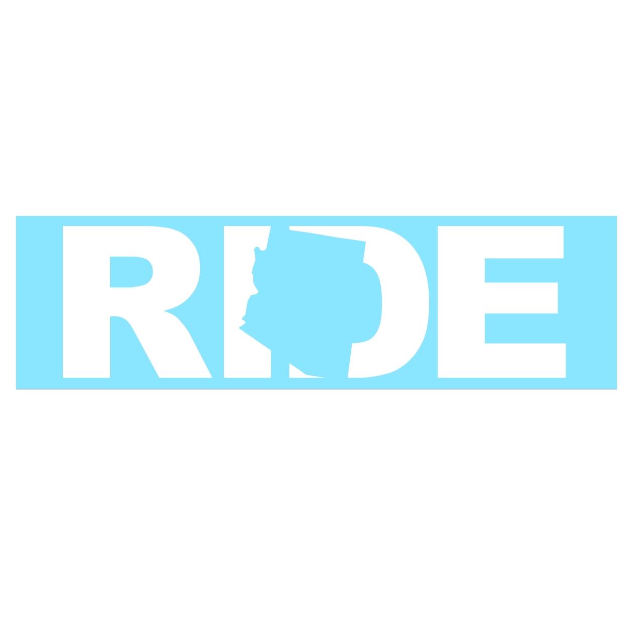 Ride Arizona Classic Decal (White Logo)
