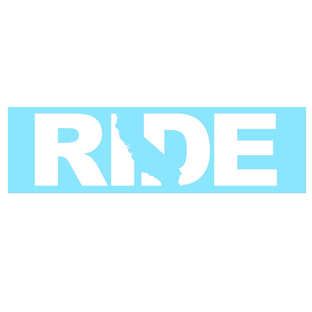 Ride California Classic Decal (White Logo)