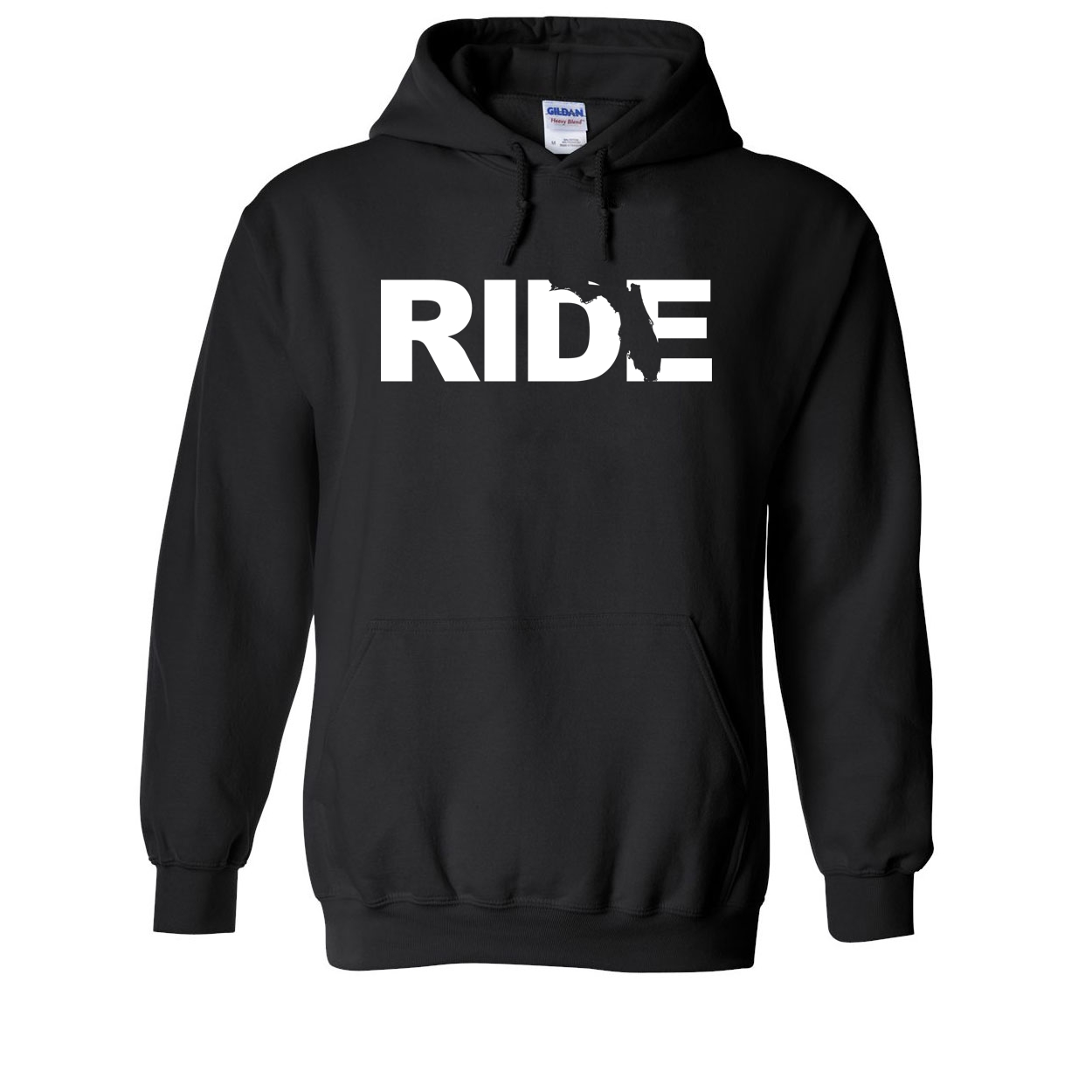 Ride Florida Classic Sweatshirt Black (White Logo)
