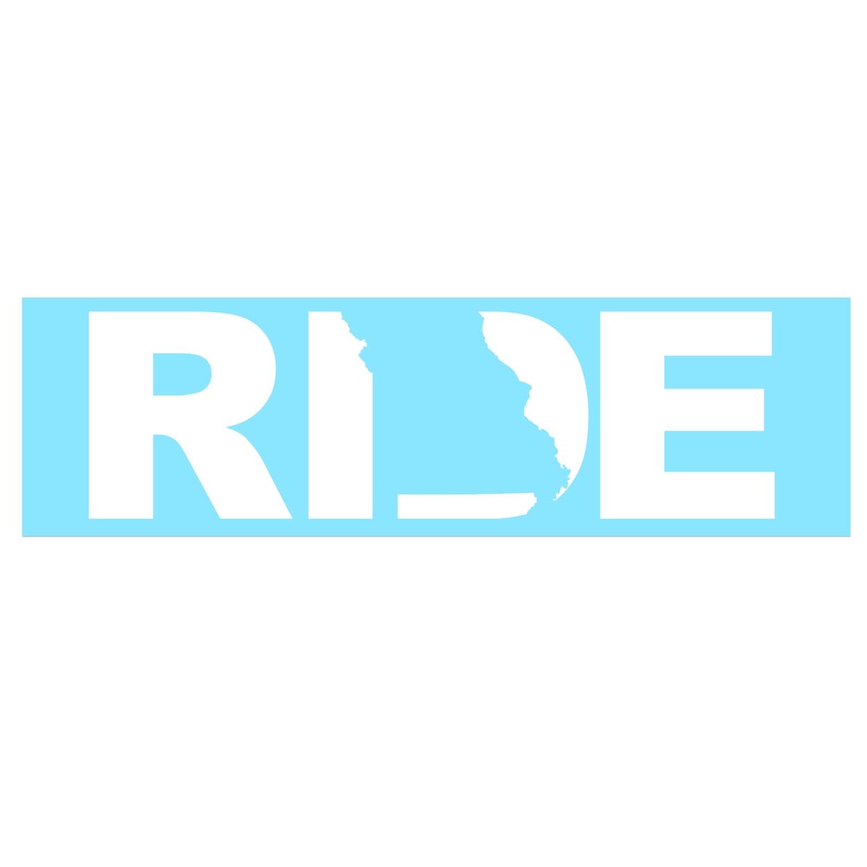 Ride Missouri Classic Decal (White Logo)