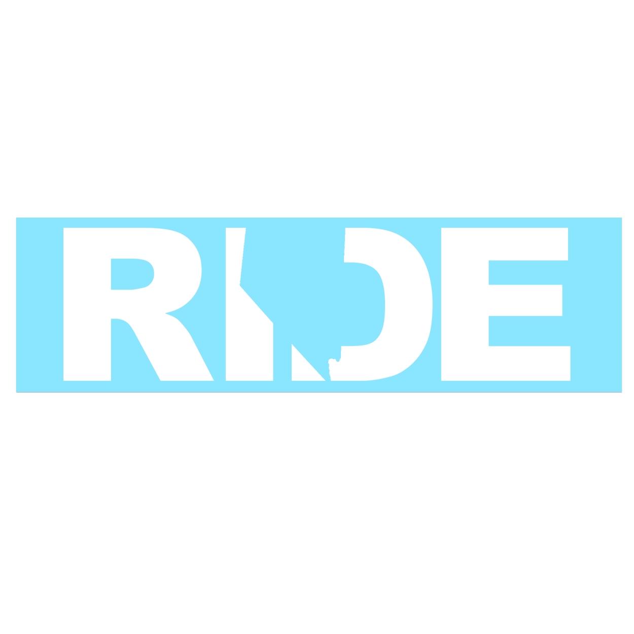 Ride Nevada Classic Decal (White Logo)