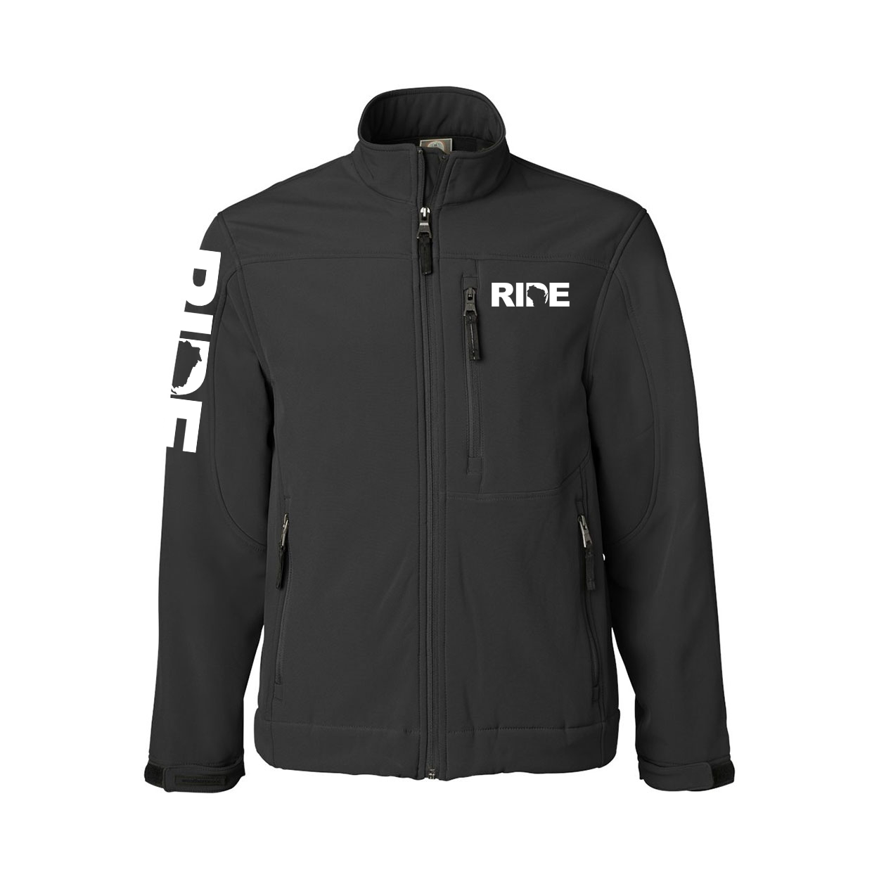 Ride Wisconsin Classic Soft Shell Weatherproof Jacket
