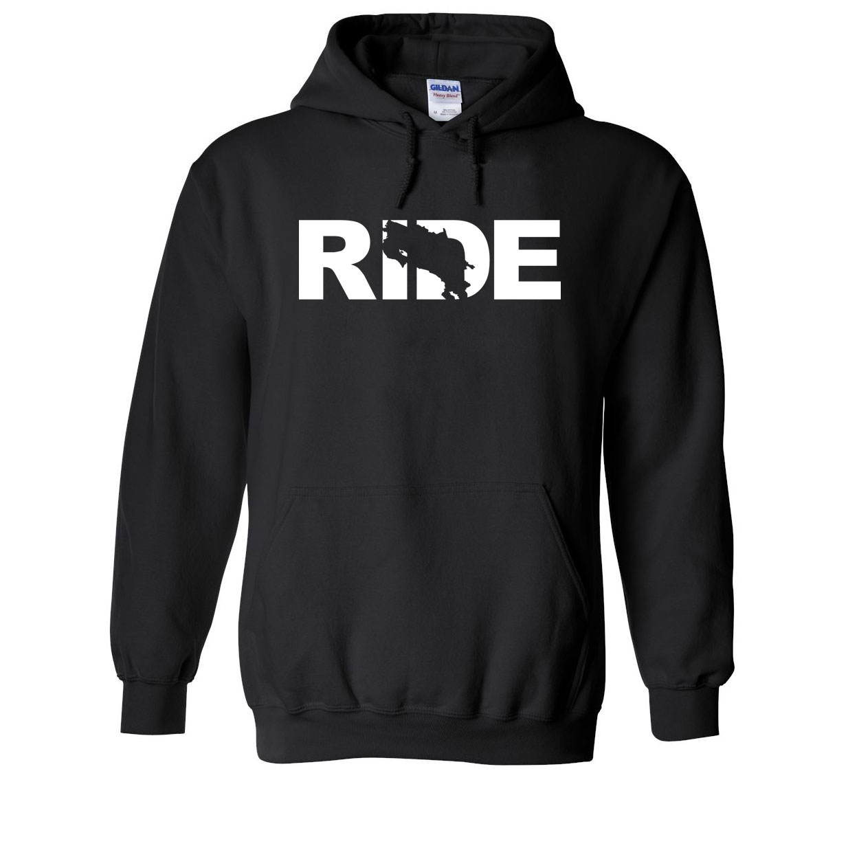 Ride Costa Rica Classic Sweatshirt Black (White Logo)