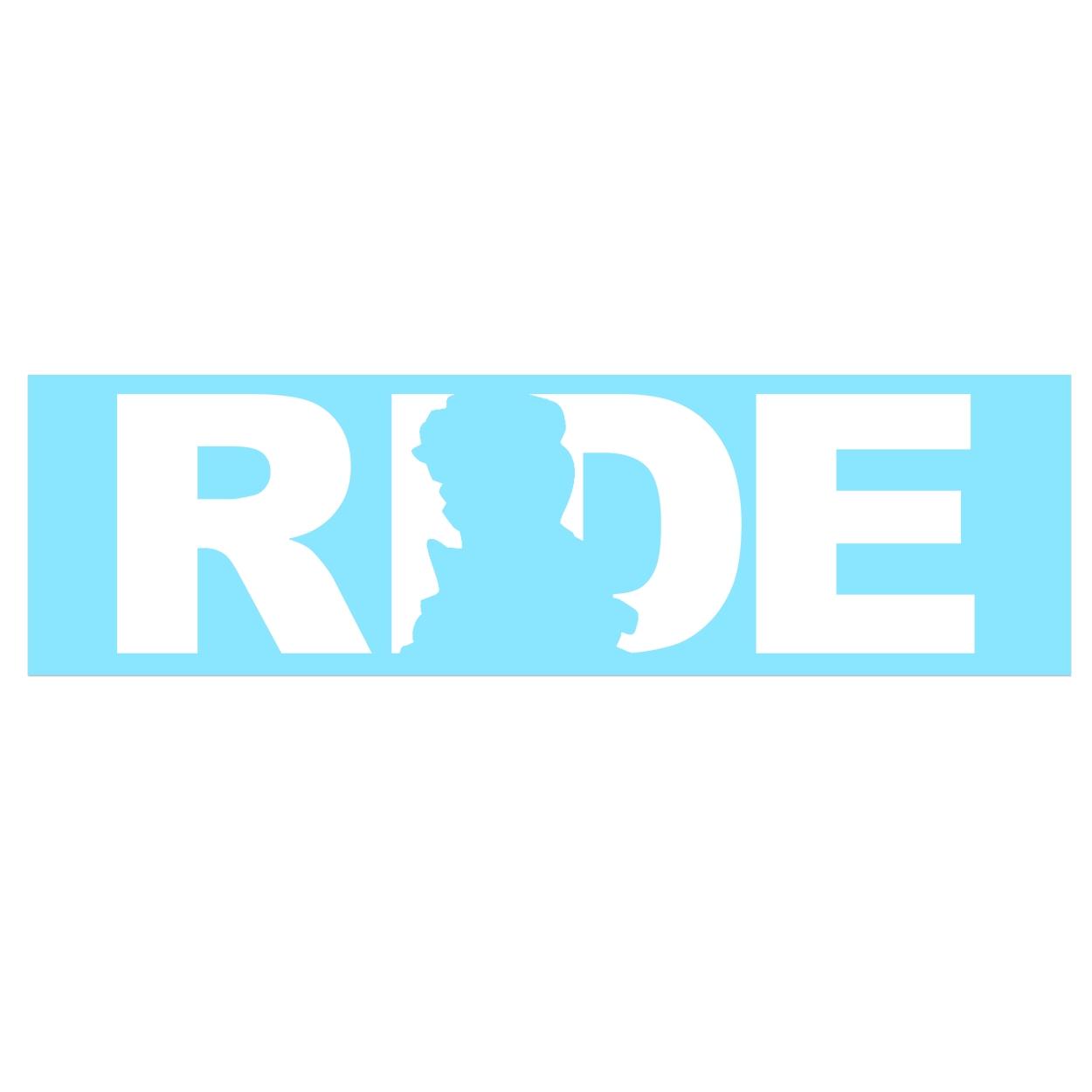Ride Scotland Classic Decal (White Logo)