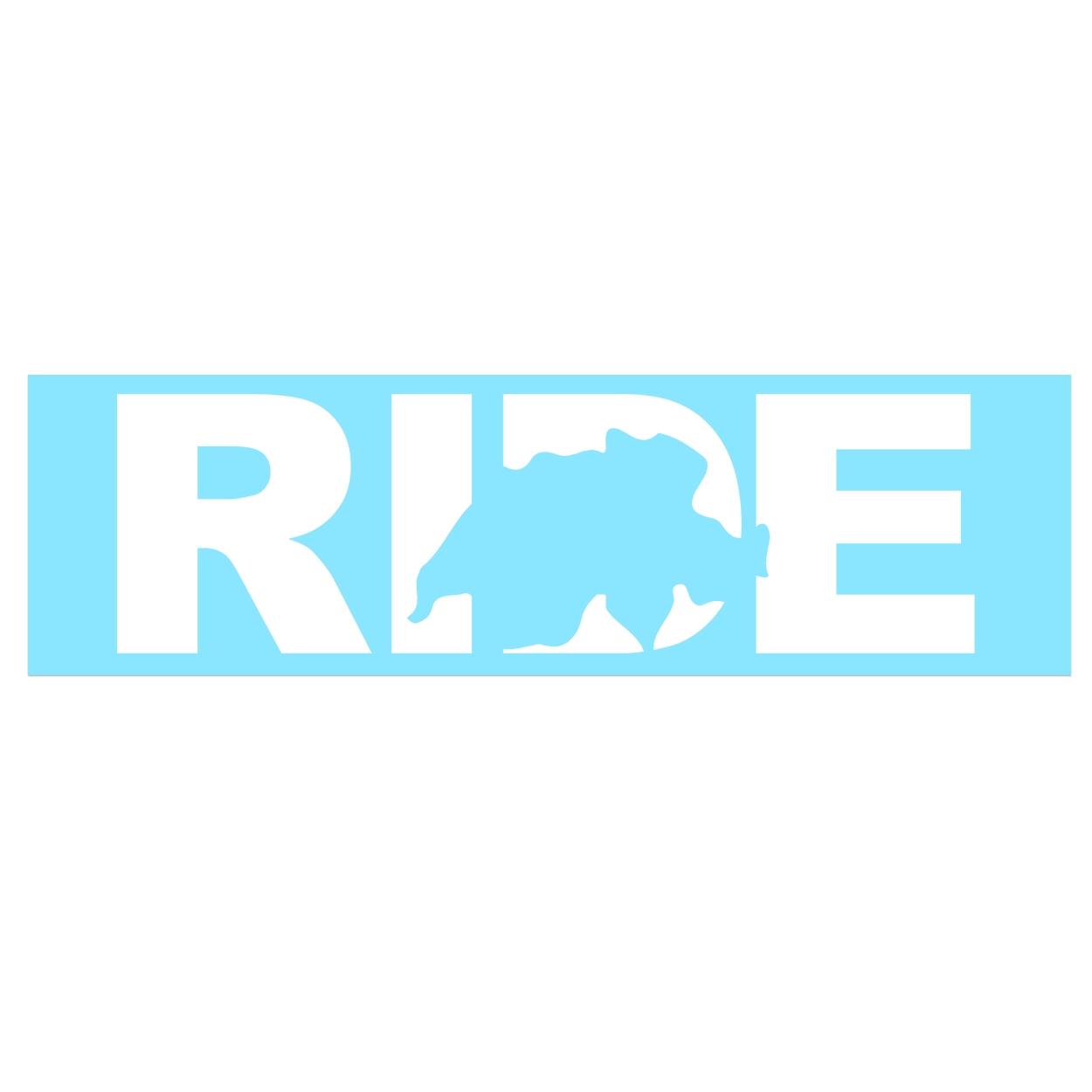 Ride Switzerland Classic Decal (White Logo)