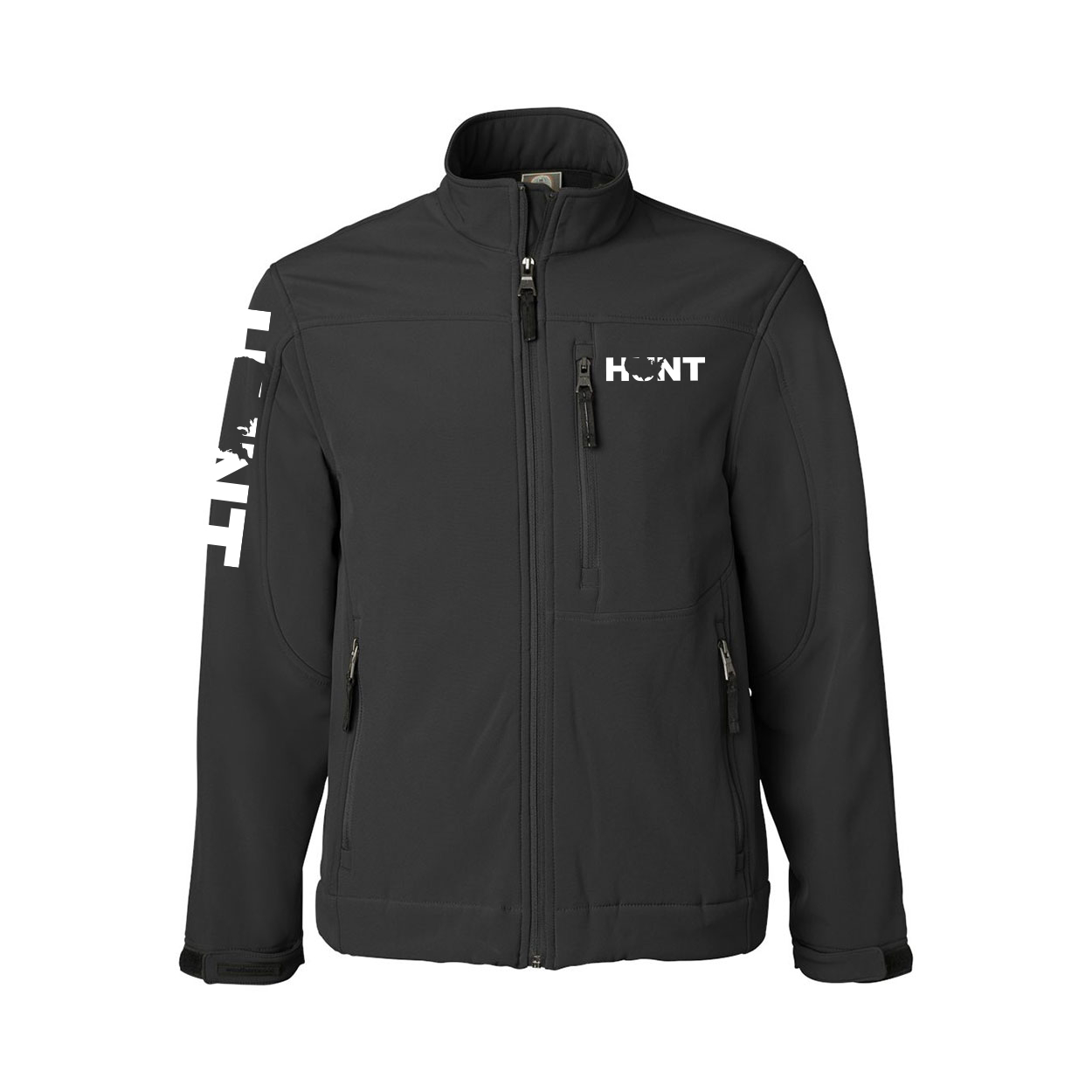 Hunt United States Classic Soft Shell Weatherproof Jacket (White Logo)