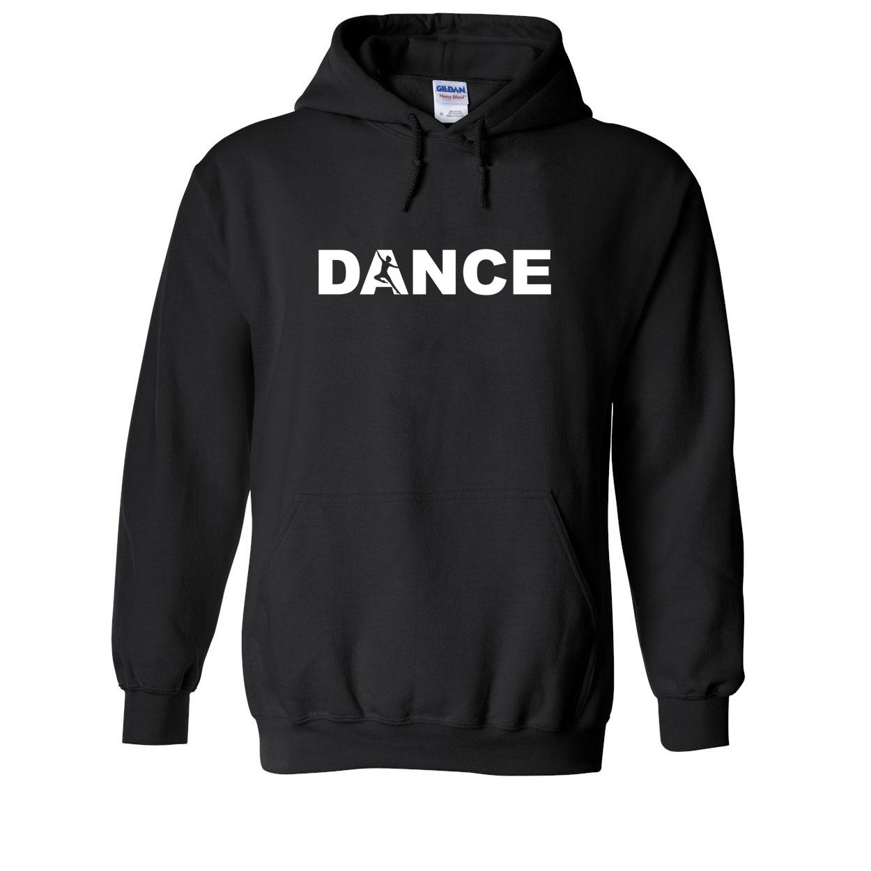 Dance Silhouette Logo Classic Sweatshirt Black (White Logo)