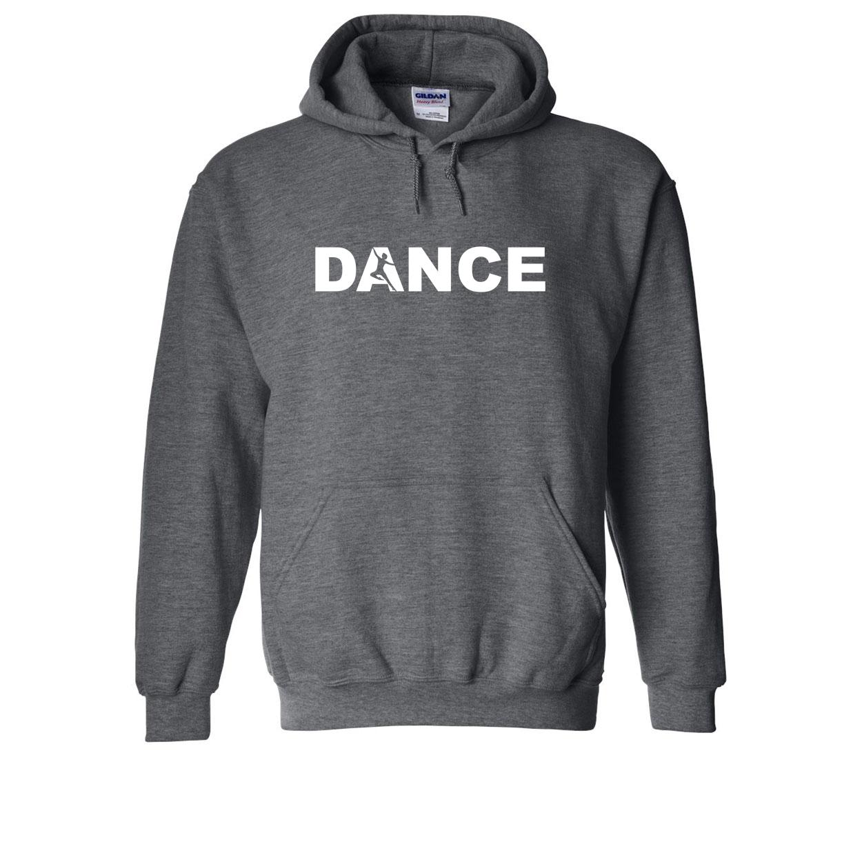 Dance Silhouette Logo Classic Sweatshirt Dark Heather Gray (White Logo)