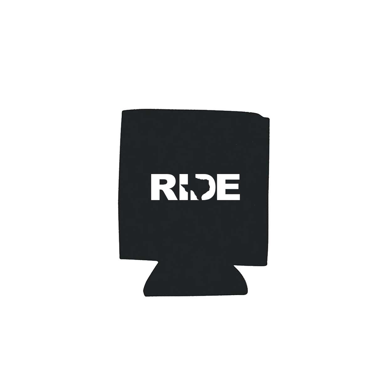 Ride Texas Koozie Black (White Logo)