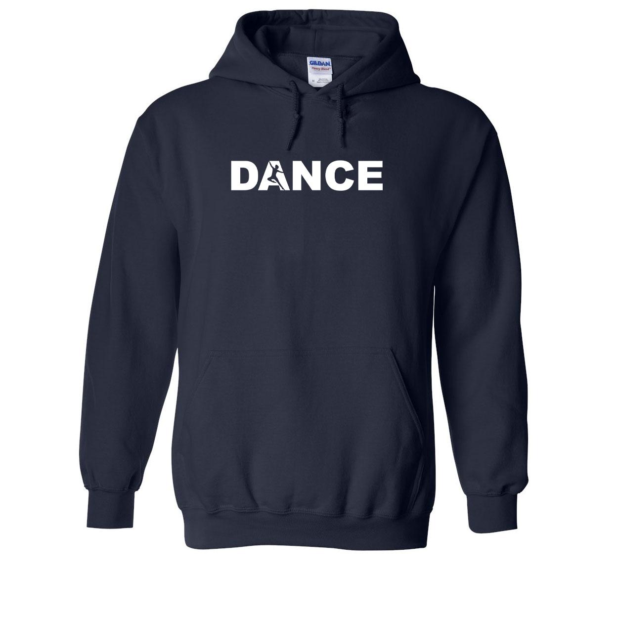 Dance Silhouette Logo Classic Sweatshirt Navy (White Logo)