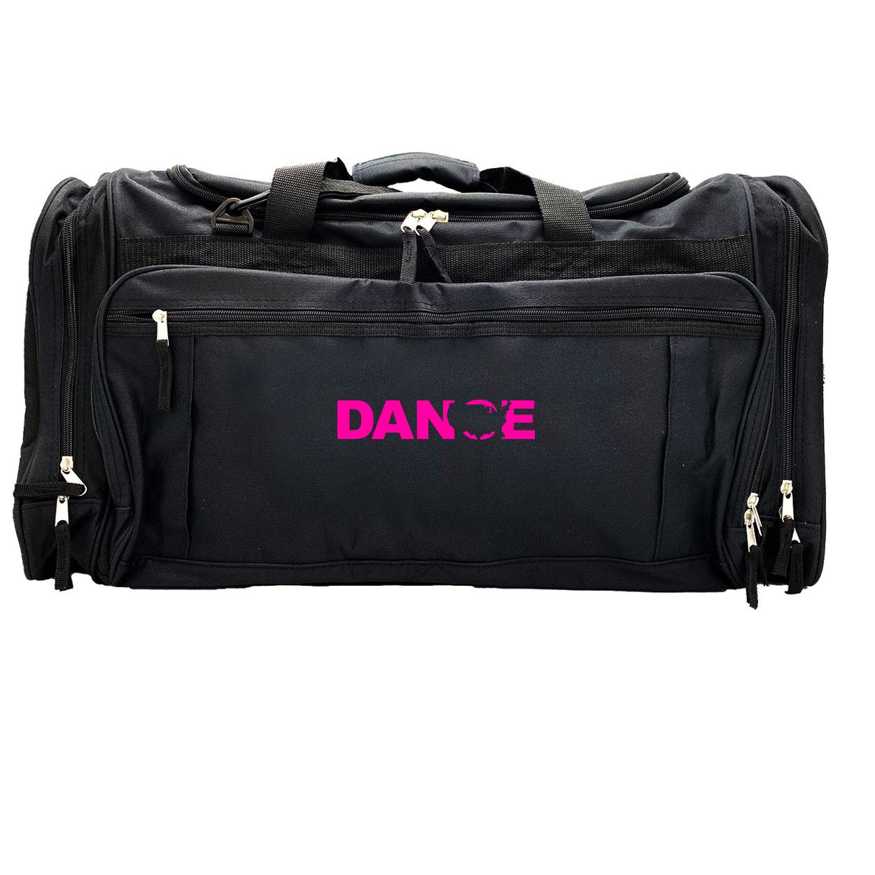 Dance United States Classic Explorer Large Duffel Bag Black (Pink Logo)