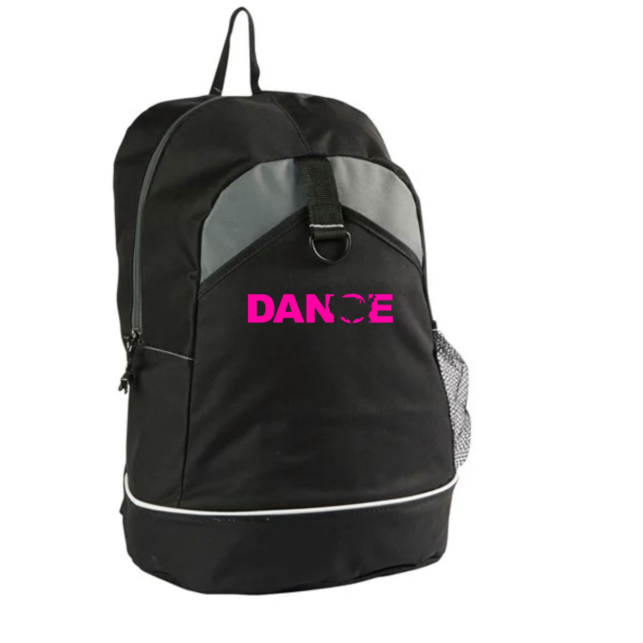 Dance United States Classic Canyon Backpack Black (Pink Logo)