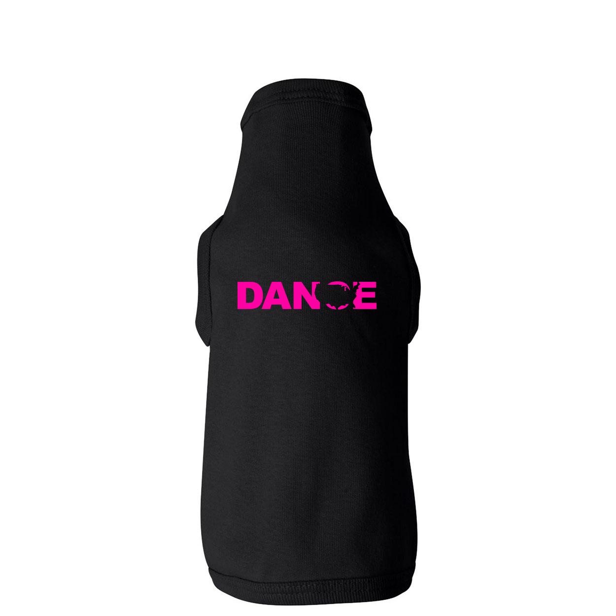 Dance United States Classic Doggie Tank Black (Pink Logo)
