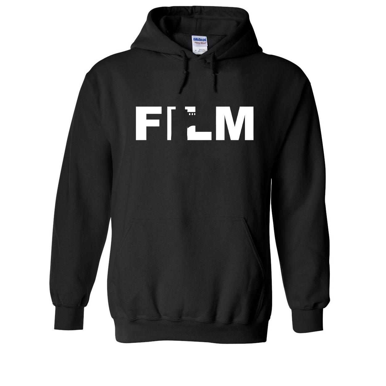Film Roll Logo Classic Sweatshirt Black (White Logo)