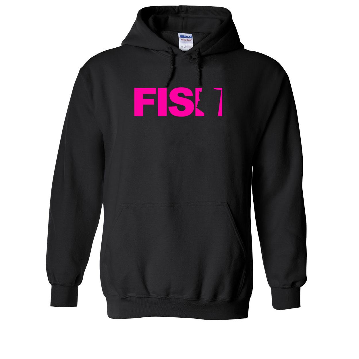 Fish Arizona Classic Sweatshirt Black (Pink Logo)