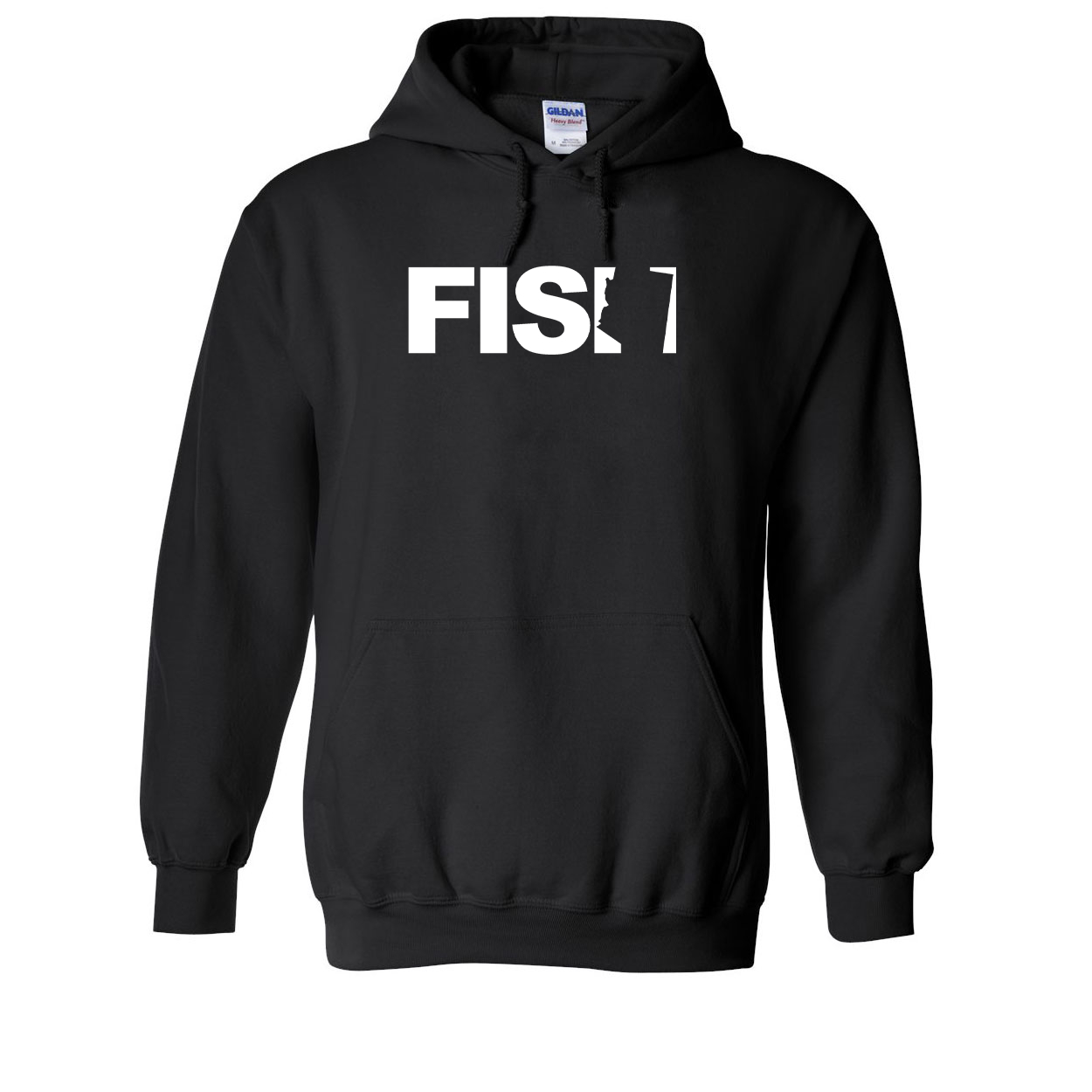 Fish Arizona Classic Sweatshirt Black (White Logo)