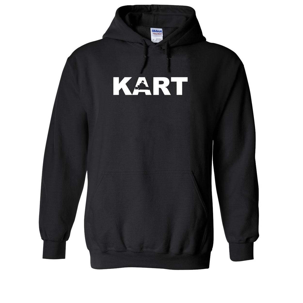 Kart Racer Logo Classic Sweatshirt Black (White Logo)