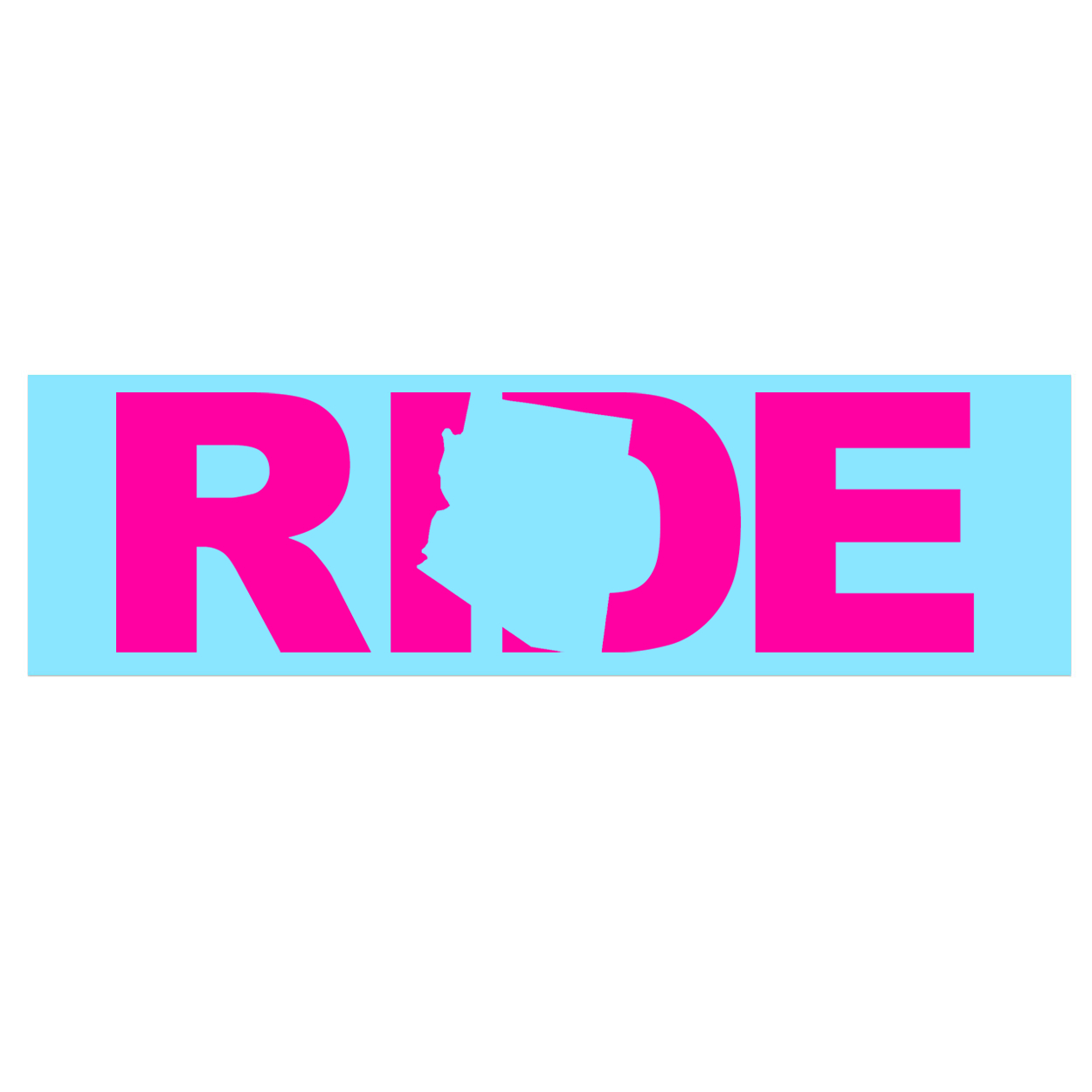 Ride Arizona Classic Decal (Pink Logo)