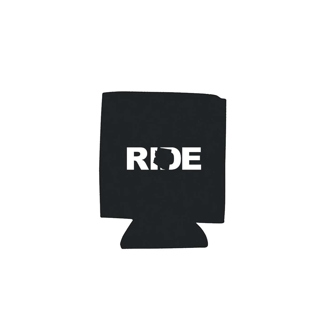 Ride Arizona Koozie Black (White Logo)