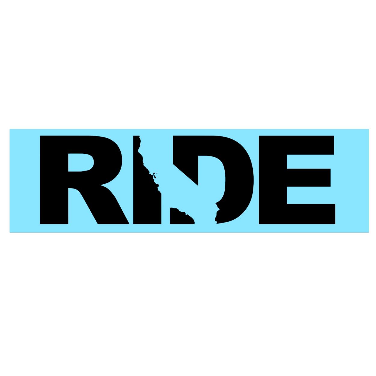 Ride California Classic Decal (Black Logo)