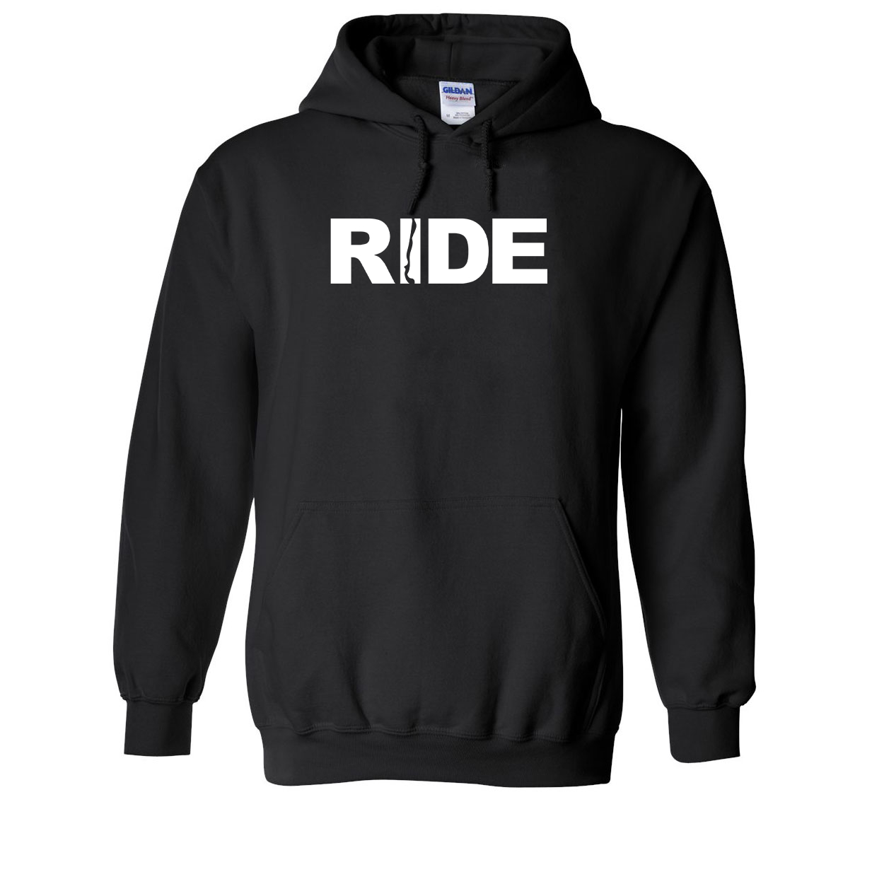 Ride Chile Classic Sweatshirt Black (White Logo)