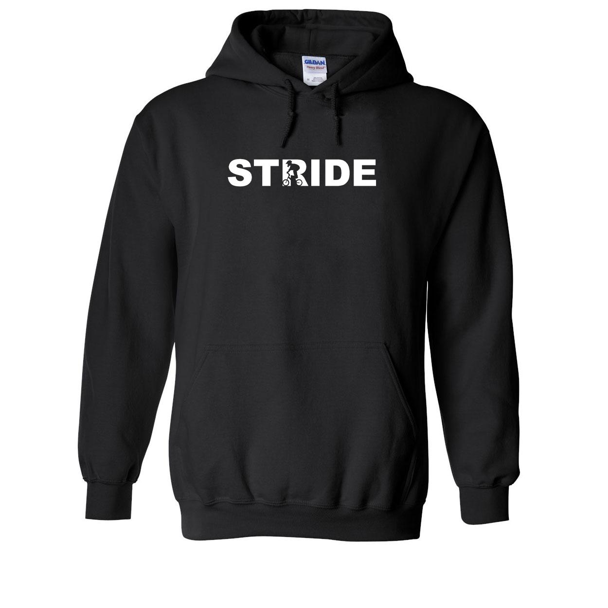 Stride Stunt Logo Classic Sweatshirt Black (White Logo)